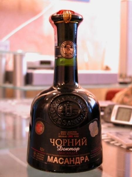 Бутылка Черного доктора